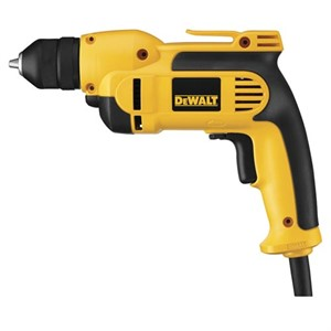"Picture of DWD112 DeWalt Electric Drill,3/8"" 7A VSR KEYLS PIST GRIP DRILL"