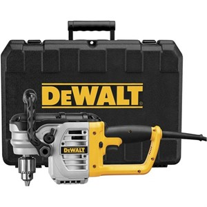 """Picture of DWD460K DeWalt 1/2"""" RIGHT ANGLE STUD & JOIST DRILL KIT W/BIND-UP CONTROL and CLUTCH"""
