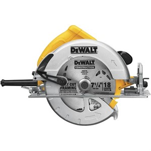 Picture of DWE575 DeWalt DWE575 circular saw,57-Degree beveling capacity