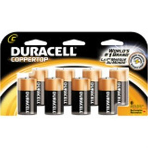 Picture of MN14R8DWZ17 Duracell Coppertop Value Batteries,C,8 Pack