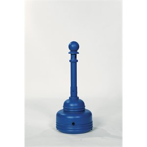 Picture of 1206BLUE Eagle SafeSmoker Cigarette Butt Receptacle Receptacle-Poly w/Metal Bucket,Blue,5 Quart