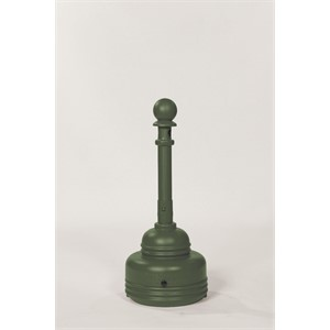 Picture of 1206GREEN Eagle SafeSmoker Cigarette Butt Receptacle Receptacle-Poly w/Metal Bucket,Green,5 Quart