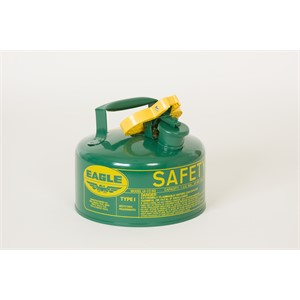 Picture of UI-10-SG Eagle Cans,Metal- Green (Oils or Combustibles),1 Gal