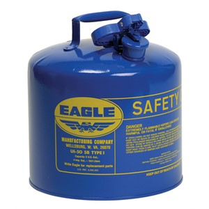 Picture of UI-50-SB Eagle Cans,Metal,Blue (Kerosene),5 Gal