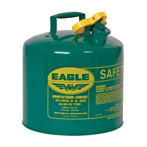 Picture of UI-50-SG Eagle Cans,Metal- Green (Oils or Combustibles),5 Gal