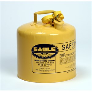 Picture of UI-50-SY Eagle Cans,Metal-Yellow (Diesel),5 Gal