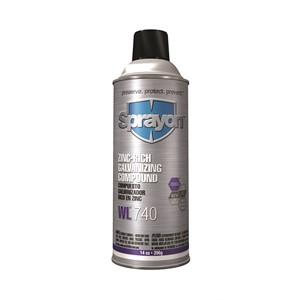 Picture of S00740 Sprayon Zinc-Rich Cold Galvanizing Compound,16 oz,Net Wt 14 oz