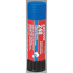Picture of 37087 Loctite Thread Sealant,19GM TUBE 248 Medium strength BLUE THREADLOCKER/Case