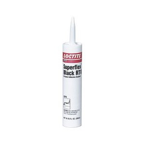 Picture of 59375 Loctite Silicone Sealant,LOCTITE SUPERFLEX BLACK RTV SILICONE ADHESIVE SEALANT