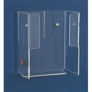 Picture of 100 MCR Acrylic Disposable Glove Dispenser,1 Slot