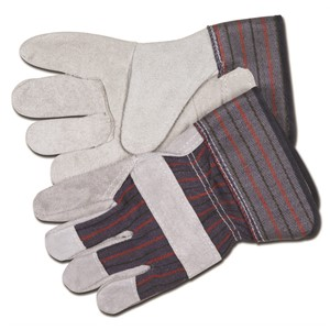 Picture of 12010 MCR Gloves,Economy Shoulder Leather Palm,L