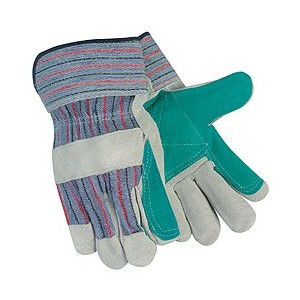 Picture of 12010DP MCR Gloves,Economy Shoulder Leather Double Palm
