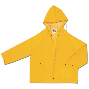 Picture of 220JHM MCR Classic,.35mm,PVC,POLY,Jacket W/Zipper Front,Yellow