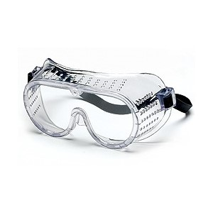 Picture of 2225R MCR Goggles,Perforated,Rubber Strap,Clear Anti-Fog Lens