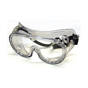 Picture of 2237R MCR Goggles,Ventless,Rubber Strap,Clear Anti-Fog Lens