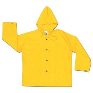 Picture of 300JHL MCR Wizard,.28mm,PVC/nylon/PVC,Flame Retardant,Jacket W/Att Hood,Yellow