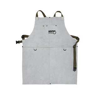 "Picture of 38130MW MCR Leather Welding Bib Apron 24""x 30"""