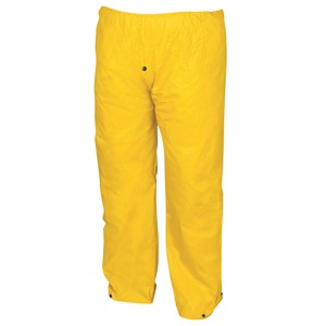 Picture of 400PWXL MCR Cyclone Flame Retardant,.35mm,PVC/nylon/PVC,Elastic Waist Pant,Yellow