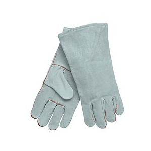 Picture of 4150LH MCR Gray Select Leather Welder Gloves,Left Hand