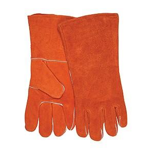 Picture of 4300B MCR Brown Shoulder Welders Gloves