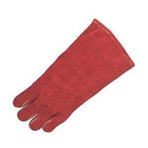 Picture of 4320LH MCR Brown Leather Welder Gloves,Sewn KEVLAR,Left Hand Only