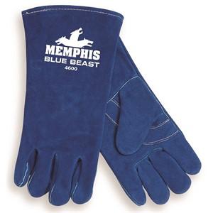 "Picture of 4600XXL MCR ""Blue Beast"" Deluxe Welders Gloves,XXL"