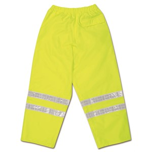 "Picture of 598RPWL MCR Class 3,Breathable Polyester/Polyurethane Waist Pants,2"" White Vinyl"