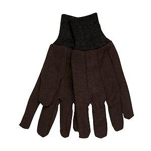 Picture of 7100 MCR Men's Work Gloves,Brown,Fleece Wrist W/Clute Pattern