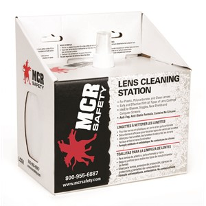 Picture of LCS1 MCR Lens Cleaning Station,includes/2 boxes of 300 tissues
