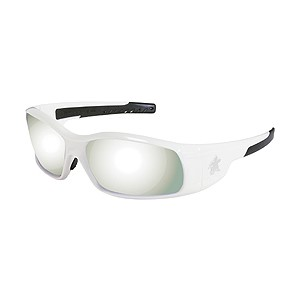 Picture of SR127 MCR Swagger Safety Glasses,White,Lens Coating Silver Mirror