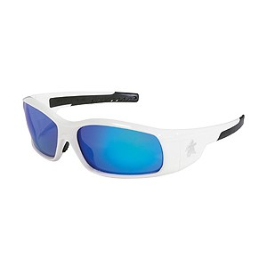 Picture of SR128B MCR Safety Swagger Safety Glasses,White, Lens Coating Blue Diamond