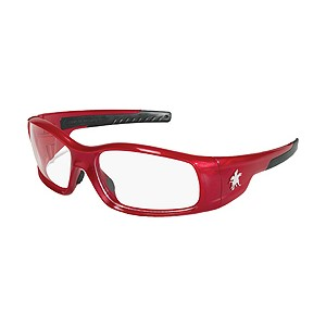 Picture of SR130 MCR Swagger Safety Glasses,Red,Lens Coating Clear