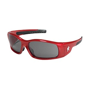 Picture of SR132AF MCR Swagger Safety Glasses,Red,Lens Coating Clear/Anti-fog