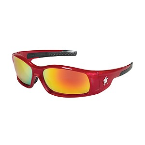 Picture of SR13R MCR Swagger Safety Glasses,Red,Lens Coating Fire Mirror