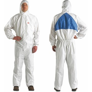 Picture of 05070-00602 3M Disposable Protective CO/A Safety Work Wear 4540+L/00602(AAD)