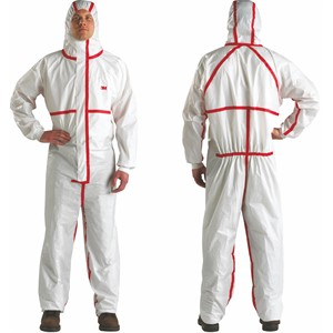 Picture of 05070-00611 3M Disposable Chemical Protective CO/A Safety Work Wear 4565-3XL