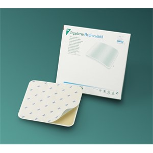 "Picture of 07387-08206 3M 4""x4"" (10,1cm x 10,1cm) Hydrocolloid Dressing,Square"