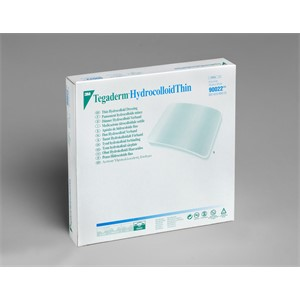 """Picture of 07387-28737 3M 4""""x4"""" (10,1cm x 10,1cm) Thin Hydrocolloid Dressing,Square"""
