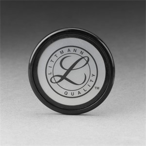 Picture of 07387-36556 3M Littmann Tunable Diaphragm and Rim Assembly,Black rim/bag,36556