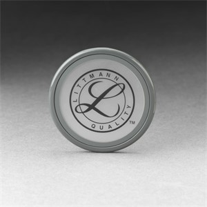 Picture of 07387-36557 3M Littmann Tunable Diaphragm and Rim Assembly,Grey rim/bag,36557