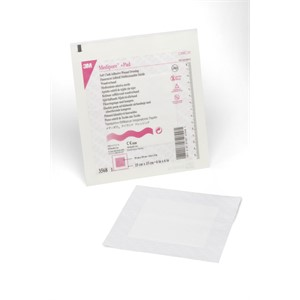 Picture of 07387-47248 3M Medipore +Pad Soft Cloth Adhesive Wound Dressing 3568