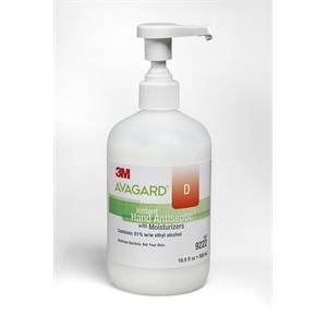 Picture of 07387-50863 3M Avagard D instant Hand Antiseptic W/Moisturizers (61% w/w ethyl alcohol) 9222