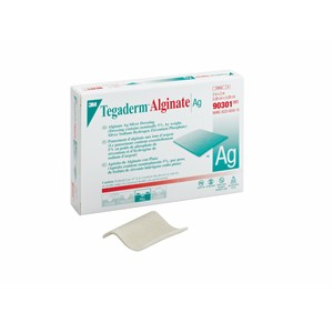 Picture of 07387-58359 3M Tegaderm Alginate Ag Silver Dressing 90301
