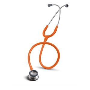 "Picture of 07387-76730 3M Littmann Classic II Pediatric Stethoscope,Orange Tube,28"",2155"