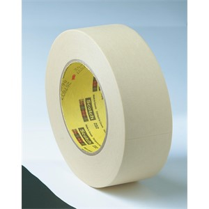 Picture of 21200-02859 3M High Performance Masking Tape 232 Tan,96mm x 55 m 6.3 mil