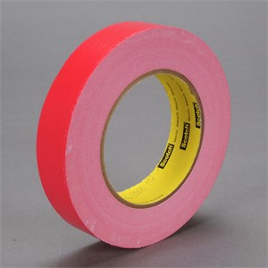"""Picture of 21200-02891 3M Printable Flatback Paper Tape 256 Red,1""""x 60yd 6.7 mil"""