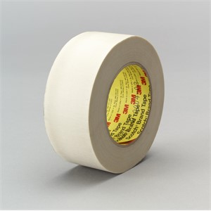 """Picture of 21200-03017 3M Glass Cloth Tape 361 White,1""""x 60yd 7.5 mil"""
