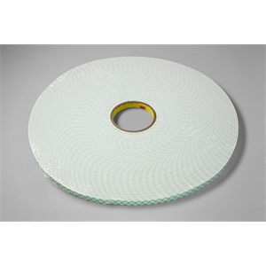 "Picture of 21200-03383 3M Double Coated Urethane Foam Tape 4008 Off-White,3/8""x 36yd 1/8"""