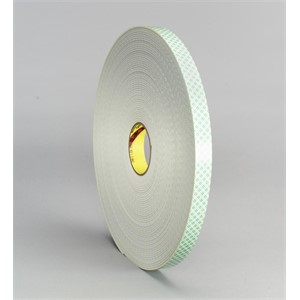 """Picture of 21200-03387 3M Double Coated Urethane Foam Tape 4008 Off-White,1-1/2""""x 36yd 1/8"""""""