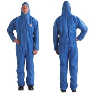 Picture of 46719-46726 3M Disposable Protective CO/A Safety Work Wear 4515-M-Blue